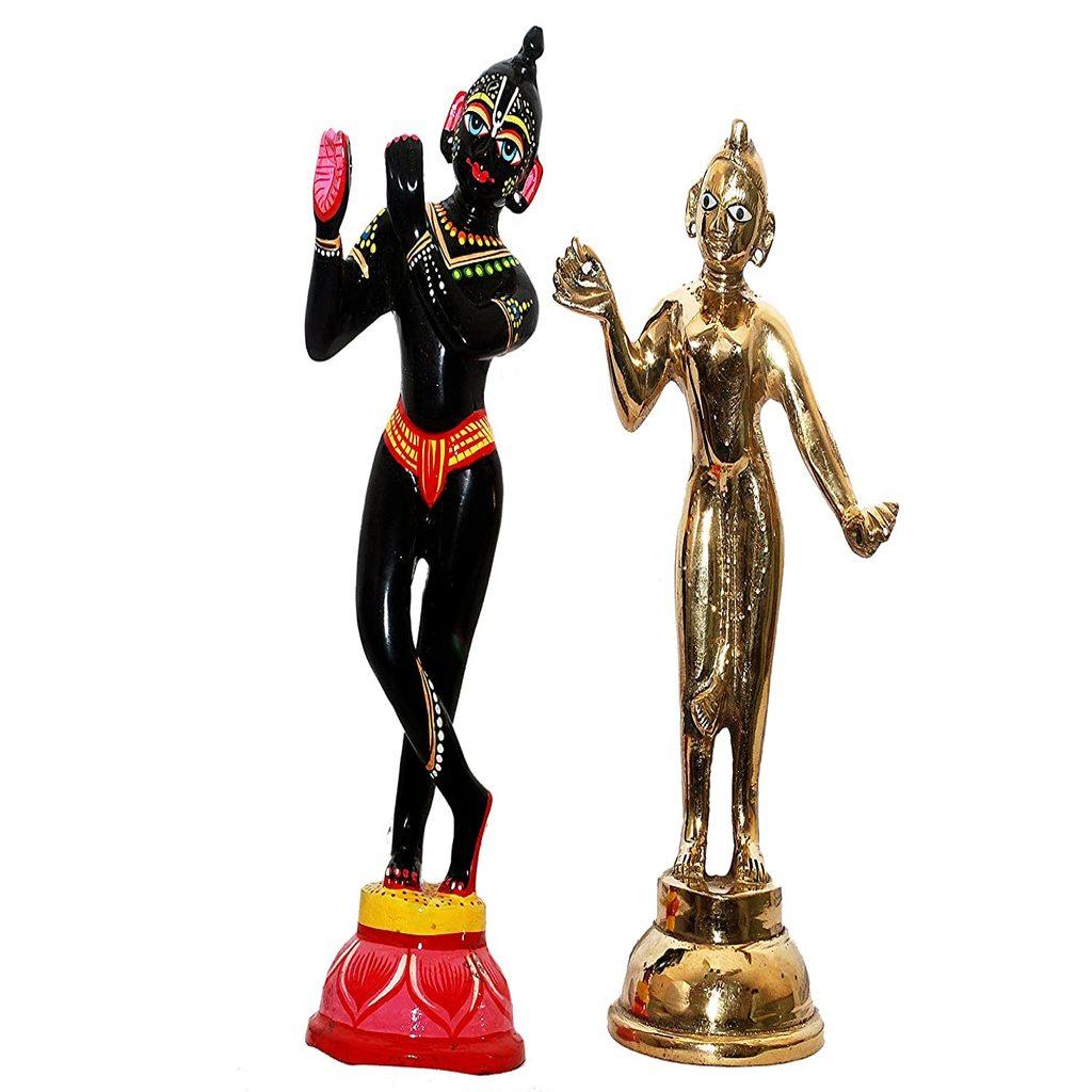 Radha krishna (Black)