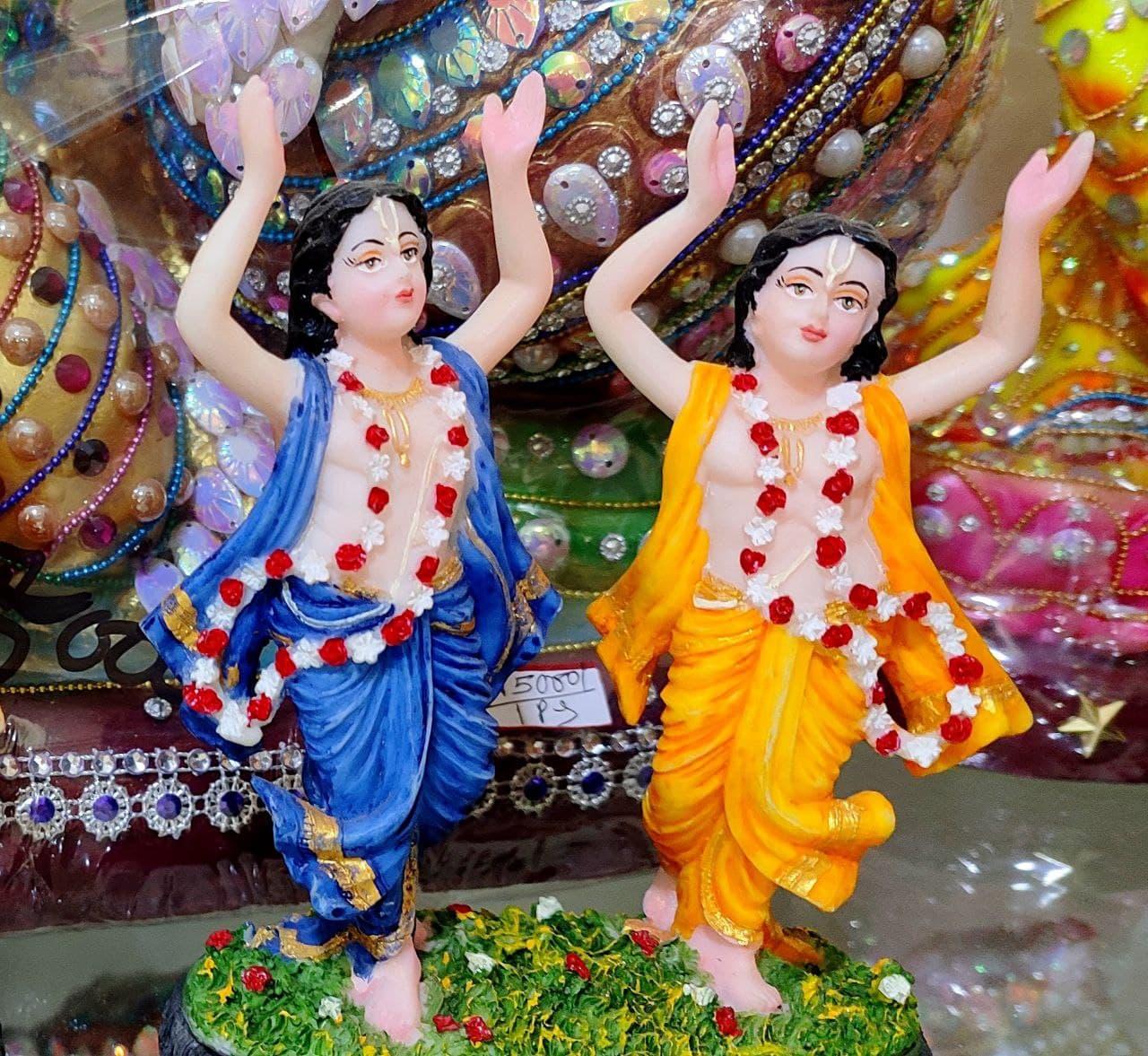 Gaur Nitai Showpiece